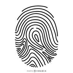 Fingerprint thin line illustration Free Vector Graphics, Vector Art, Fingerprint Art, Plastic Art, Shirt Print Design, Line Illustration, Logo Design, Graphic Design, School Design