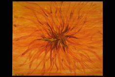 """Untitled Orange"" Acrylic on canvas"
