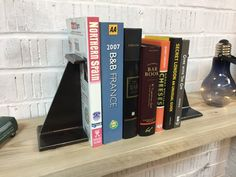 Excited to share the latest addition to my #etsy shop: Industrial RSJ Metal Bookends - retro steampunk art