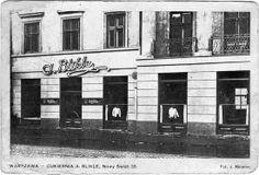 Blikle Cake Shop, Still there Warsaw, Cake Shop, Street, Places, Food, Professor, Historia, Patisserie, Essen