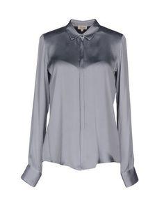 HER SHIRT Women's Shirt Grey L INT