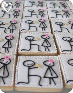 Engagement party cookies... - Engagement party cookies...  Repinly Weddings Popular Pins