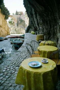 Fuore Cove Ristorante, Praiano, Amalfi Coast Italy