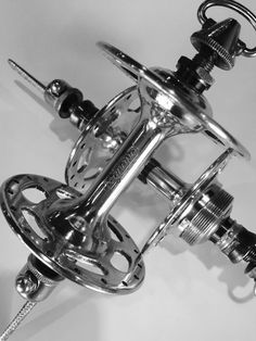 1957 Campagnolo Record hubs produced for Legnano.