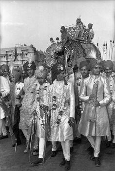 Henri Cartier-Bresson - Jaipur, India 1947
