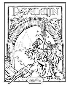 Efteling kleurplaat Raveleijn