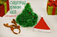 Bring holiday spirit wherever you run this season in our Christmas Running Hats!