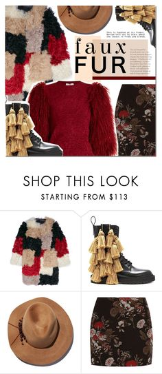 """Fur"" by barbarela11 ❤ liked on Polyvore featuring Marni, Burberry, Eugenia Kim, Ganni, Sonia Rykiel, Winter, cozy, fur and polyvoreeditorial"