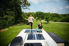 Powerful and Flexible RV Solar Panels --If your RV plans include wild camping, or boondocking, then adding solar power to your rig is a must! - See more at: www. Bus Life, Camper Life, Camper Van, Camping 101, Outdoor Camping, Camping Baby, Camping Gadgets, Vw Bus, Solar Energy