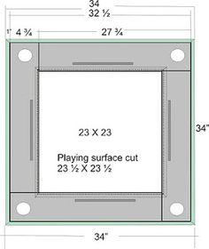 domino table dimensions | Mr. Rodriguez Theoretical Design