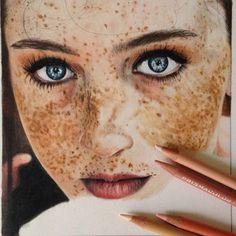 """Incredible! ✏️ Artist: @andreea_ionela_berindei  #art #artist #artbotic #wip"" Photo taken by @artbotic on Instagram, pinned via the InstaPin iOS App! http://www.instapinapp.com (04/04/2015)"