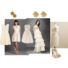 bridesmaids, created by ameliacrisp on Polyvore