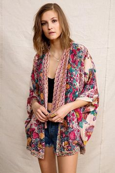 American Vintage Boho Kimono Jacket #urbanoutfitters
