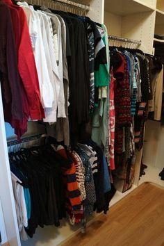Kuzak's Closet Organized Master Closet