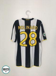 dfa7eba9a MOLINARO Juventus 2008 09 Home Football Shirt (L) Soccer Jersey NIKE Vintage
