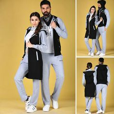 Matching Couple Outfits, Matching Couples, Cute Relationship Goals, Cute Relationships, Jogging, Hijab Fashion, Fashion Outfits, Baby Dress, Sportswear