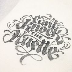 Cant Knock the Hustle by Patrick Cabral