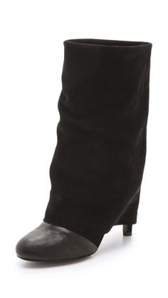 See by Chloe Cuffed Mid Heel Boots