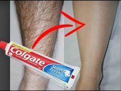 De esta manera podrás remover sencillamente el vello de tu piel usando colgate.