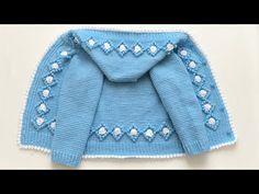 Baby Knitting Patterns, Crochet Patterns, Tunisian Crochet, Knit Crochet, Baby Nest, Baby Kids, Sweaters, Youtube Youtube, Fashion
