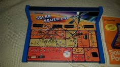 Educational Toys for Collectors & Hobbyists Electronics Sale, Game Sales, Science Fair, Toy Sale, Old Toys, Solar Power, Lab, Games, Retro