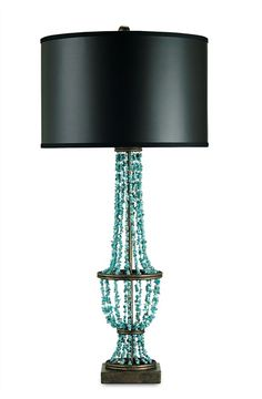 Jeweled Lamp - Preston Table Lamp | Currey and Company