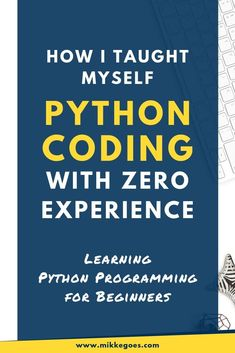 Learn Python programming for data science, web development, and much more with the best Python book for beginners. Practice Python syntax and learn how to Computer Programming Languages, Computer Coding, Learn Programming, Computer Science, Python Programming Books, Computer Diy, Computer Basics, Coding Languages, Science Des Données