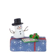A-34 Gift with Snowman – LIMITED