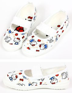 Hello Kitty UWABAKI (indoor shoes), can buy direct from Japan.