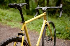 tonic fabrication | crazy soft tail cyclocross; gravel road; off road bike | creative!