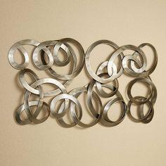 interweave metal wall sculpture