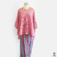 Kebaya Hijab, Kebaya Brokat, Dress Brokat, Batik Kebaya, Kebaya Muslim, Batik Dress, Blouse Dress, Indonesian Kebaya, Model Kebaya
