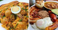 Sabrosura para extranjeros y colombianos, dentro y fuera del país. Colombian Food, Colombian Recipes, Deli Food, Pozole, Pan Dulce, Falafel, Naan, What To Cook, Soups