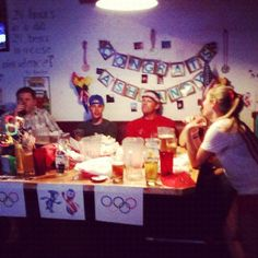 #olympicsparty