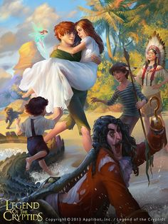 Neverland's Grand Finale by ~Toru-meow on deviantART Love this art. I so wish I was Wendy. ♡♡♡♡