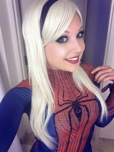 Nicole Marie Jean as Gwen Stacy as Spider Girl (Marvel Comics)