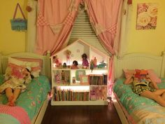 Simple Homemade Dollhouse Bookcase DIY Project Homesteading  - The Homestead Survival .Com
