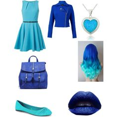 A fashion look from May 2015 featuring short fit and flare dress, blue motorcycle jackets and ruby shoes. Browse and shop related looks. Blue Motorcycle, Motorcycle Jacket, Kat Von D, Thalia, Fit And Flare, Fashion Looks, Polyvore, Jackets, Shopping