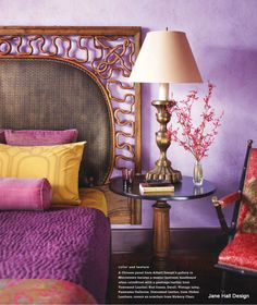 Bohemian style bedroom from New York Spaces