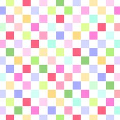Sunrise Studio #1 by Holly Holderman - Multi Checkerboard