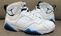 timeless design 730c7 3f81d Another Look at the 2015  French Blue  Air Jordan 7 Retro Jordan 7 Shoes