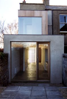 Martelo Avenue / Boyd Cody - love the stone wood cement combo