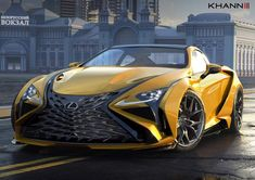 Check out this amazing render of the upcoming Vision GT by Can't wait to see the completed build! Lexus Coupe, Lexus Lc, Lexus Sports Car, Lexus Cars, Street Racing Cars, Auto Racing, Drag Racing, Bugatti, Maserati