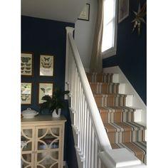 Dash and Albert Rugs Woven Heron Stripe Area Rug & Reviews | Wayfair