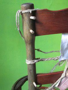 thonet fine 800: particolare di spinatura gamba posteriore
