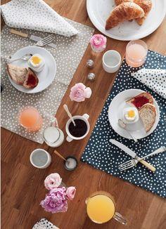 Good morning. Nice breakfast