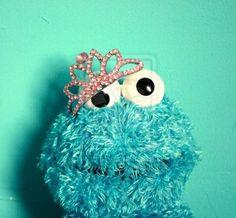 I am a queen #queen #cookie #monster