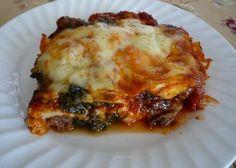 Lo-Carb Lasagna Recipe.   Foodfolio √