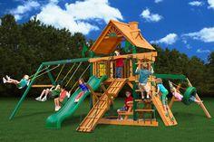 Acadia - Wooden Swingsets from PlayNation pkg D