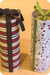 Embalagem Biscoitos de Natal (Lata de batatas)